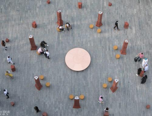 مبلمان اداری پیشنهادی بنتون برای هفته دیزاین دوبی